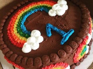 1st Birthday Cake - Gluten-Free Chocolate