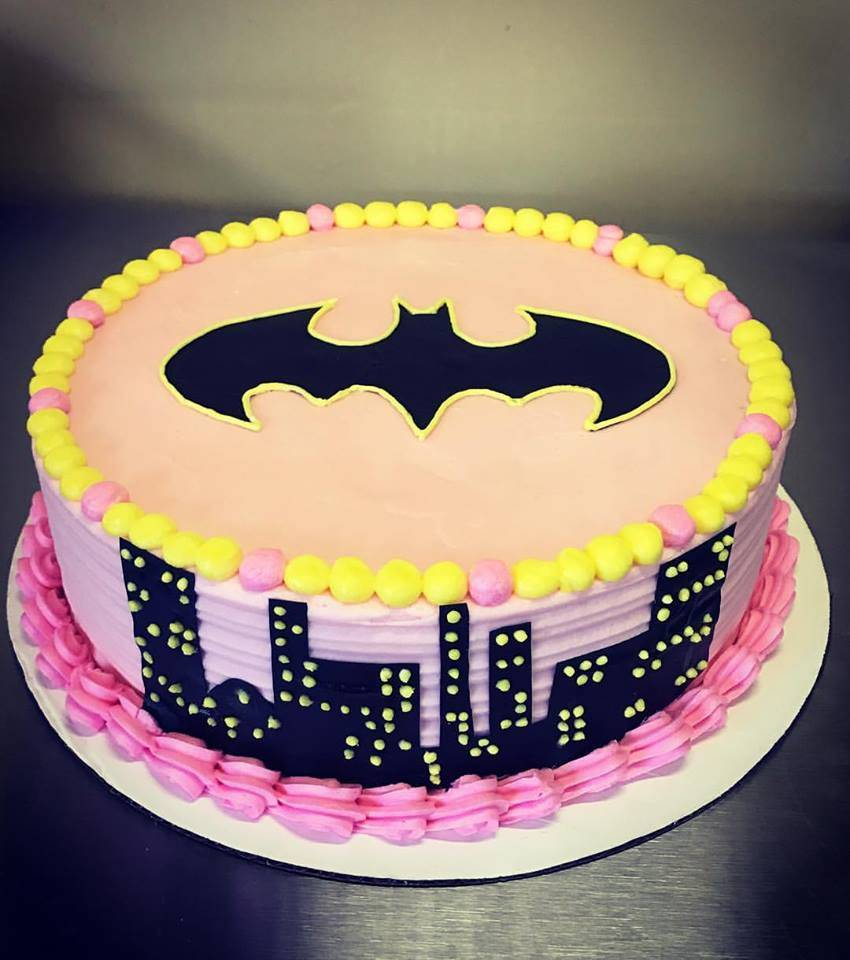 Gluten-Free Batman Cake For 3 Year Old's Birthday