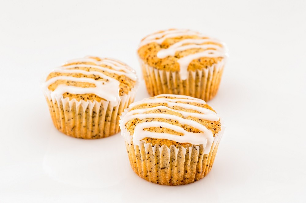 Third Coast Bakery - Gluten Free Lemon Poppy Seed Muffins