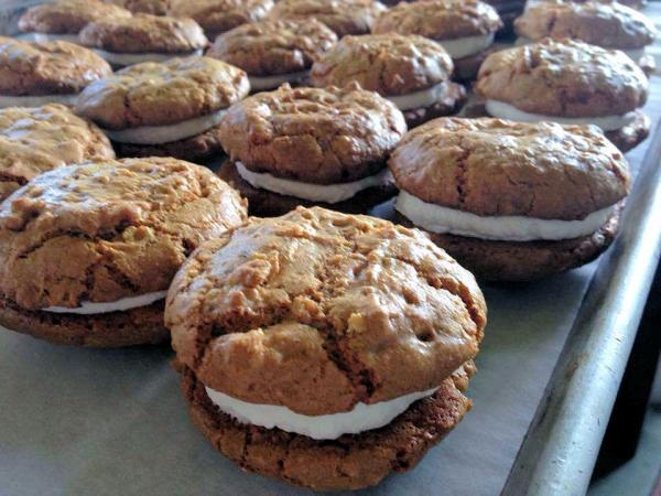 Third Coast Bakery - Gluten Free Pumpkin Oatmeal Cream Pies