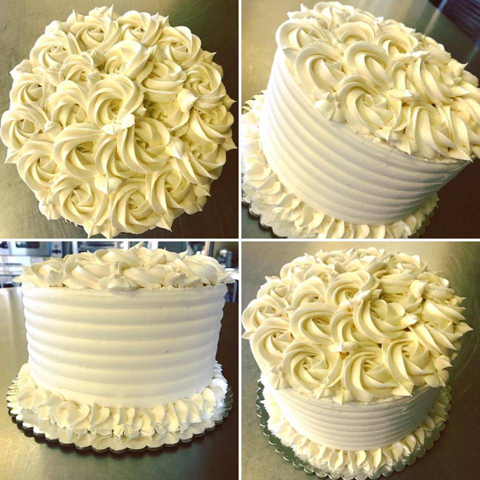 Three layer chocolate wedding cake with vanilla bean pastry cream and raspberry (Gluten-Free, Vegan, Soy-Free, Dairy-Free)