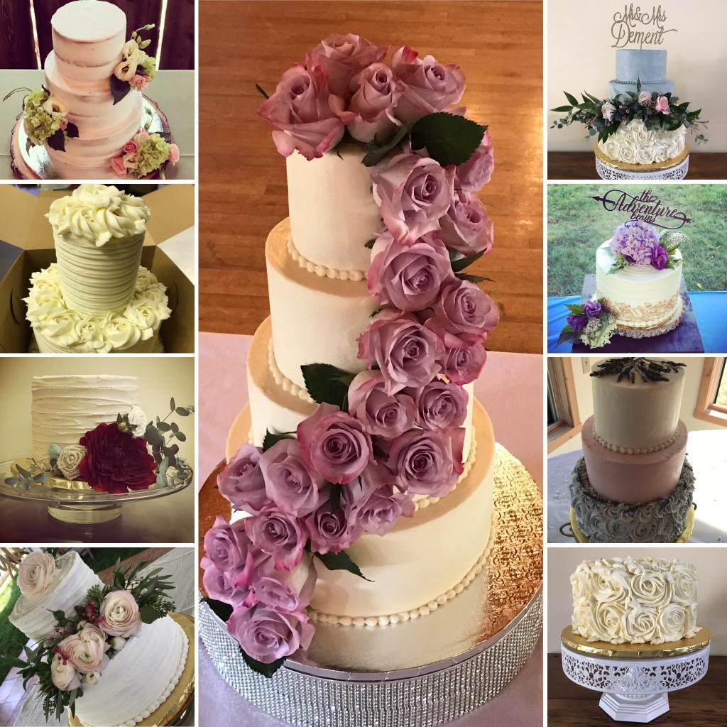 Gluten Free, Vegan, Soy Free, Dairy Free, Wedding Cakes - Traverse City