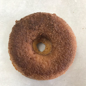 Sugared Pumpkin Gluten Free Donut